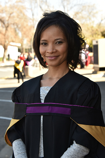 Office dynamo obtains masters in reconciliation- nathlene van wyk