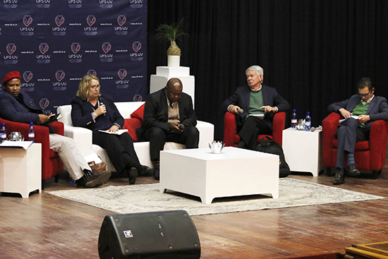 Politics of land reform discussed during inaugural Thought-Leader Series