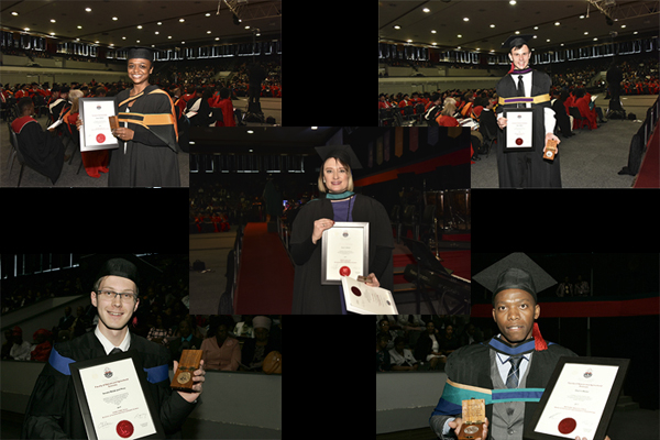 Prestigious academic medals awarded to outstanding UFS students