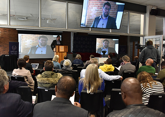 Robust reform rhetoric shared at the inaugural UFS Thought-Leader Series