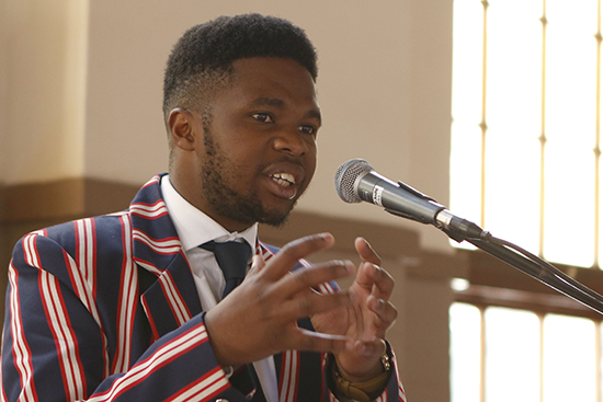 Sikhululekile Luwaca named 100 Young Mandelas of the future