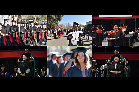 UFS June graduation ceremonies inspire South Africa