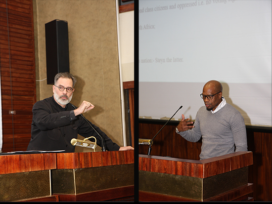 Future of MT Steyn statue discussed-Prof Johann Rossouw and Dr Luvuyo Dondolo