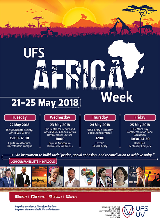 UFS Africa Week to celebrate African unity