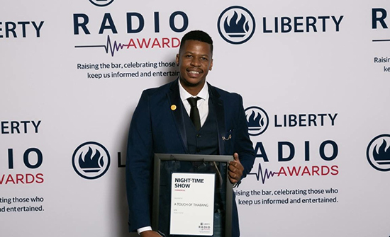 UFS alumnus wins National Liberty Radio Award - Thabang Moselane