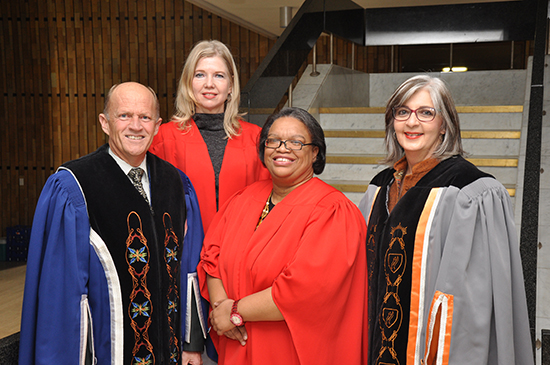Well-known activist delivers 34th DF Malherbe Memorial Lecture