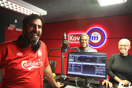 Kovsie FM breakfast show nominated for Liberty Radio Awards