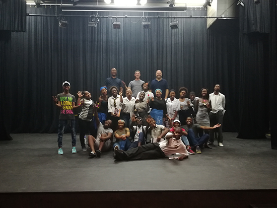 Nicro approach UFS Drama for crime-prevention play