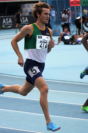 Strong athletics team for USSA