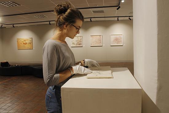 Final-year Fine Art students exhibit their work