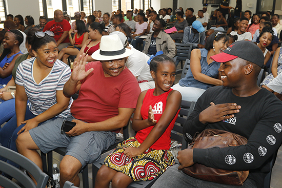 Legae first-year residents welcomed on UFS South Campus