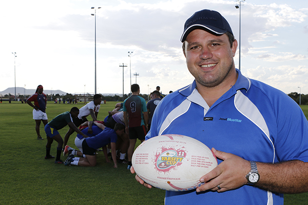 Former Bok gives back to his alma mater