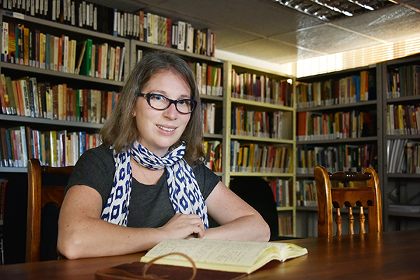 ISG's Sarah Frank researches impact of historic conflicts on society