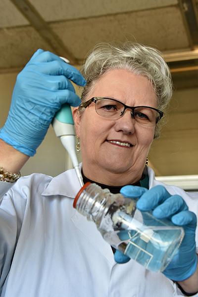 Researcher tackling drug-resistant TB through molecular methods