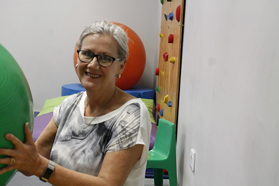 Dr Annamarie van Jaarsveld believes occupational therapy is important