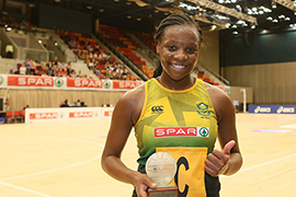 Kovsie Netball star selected to the national team