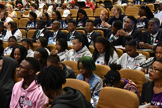 Student Affairs host future UFS leaders during leadership conference