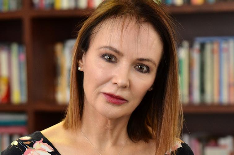 Read More - Prof Melanie Walker in her office on the Bloemfontein Campus