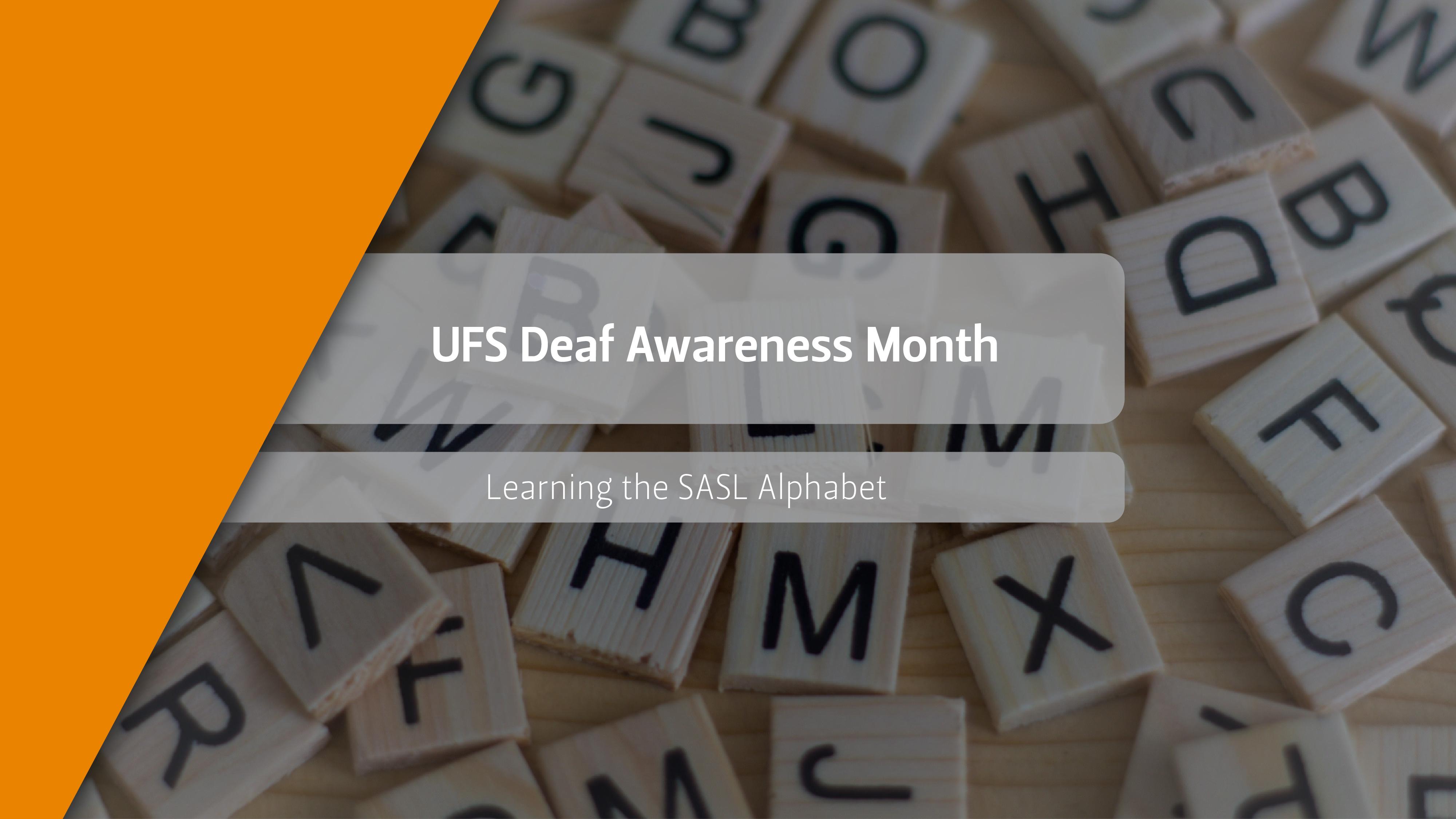 Learn the SASL Alphabet