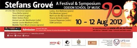 Description: Odeion School of Music Keywords: Stefans Grové Festival & SymposiumOdeion School of Music