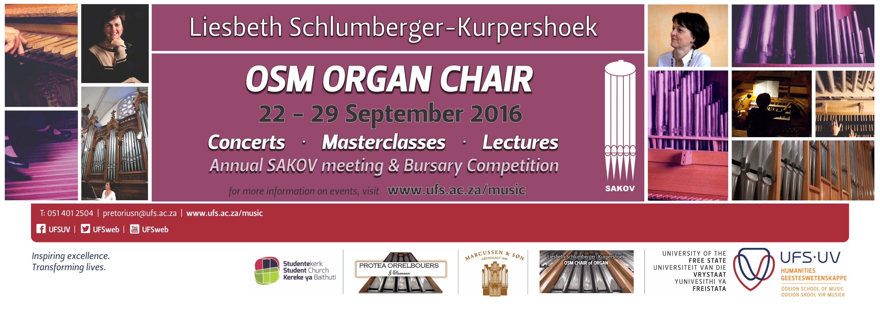 Liesbeth Schlumberger Organ Chair events 2016 finaal