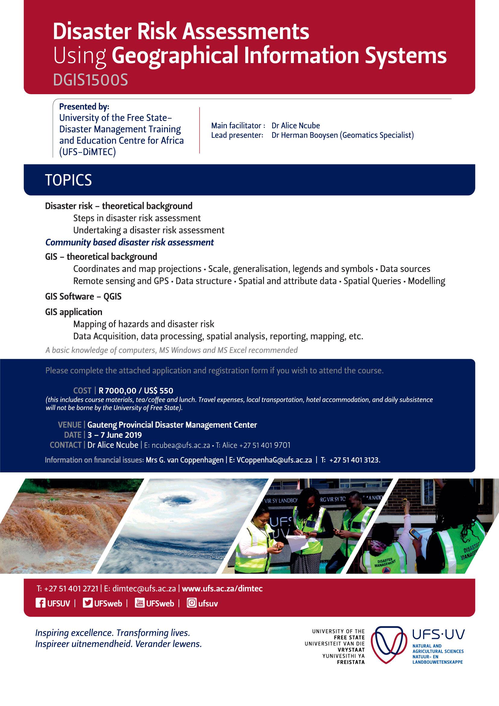 GIS for Disaster Management
