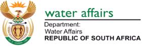 Description: Logo of Dept of Water Affairs  Tags: Dept, water, affairs, water affairs