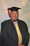 Description: Disaster Management Training and Education Centre for Africa (DiMTEC) Keywords: Photo,Graduation