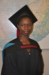 Description: Disaster Management Training and Education Centre for Africa (DiMTEC) Keywords: Photo, Graduation