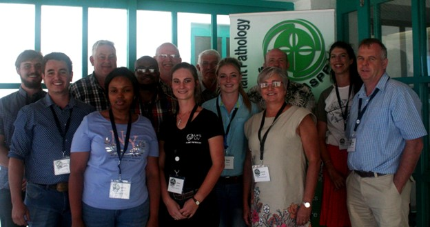 UFS delegates that attended the 51st Congress of the Southern African Society for Plant Pathology