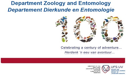 Description: Zoology and Entomology Keywords: UFS Centenary Banner