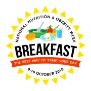 National Nutrition & Obesity Week, 9-19 October 2018