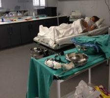 Obstetrics training in simulated maternity ward