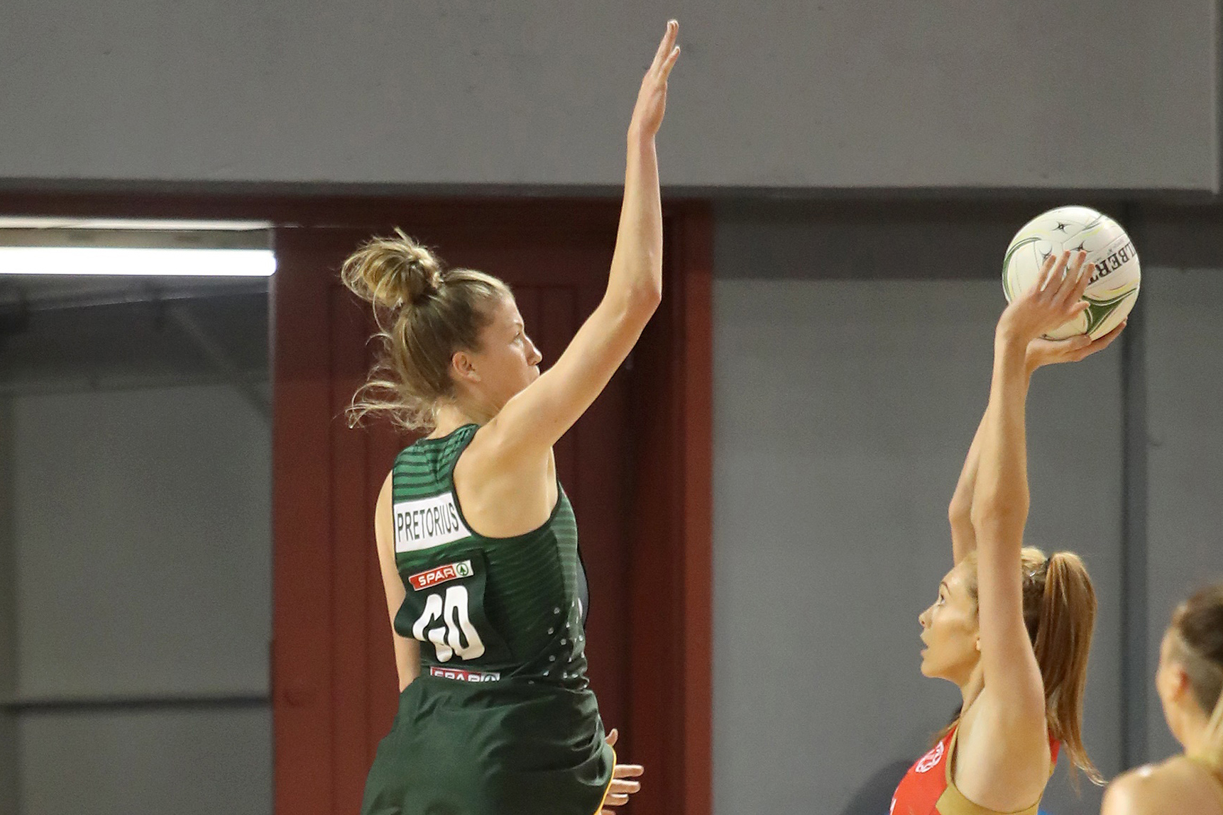 Karla takes netball world by storm