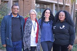 Dr Tshepo Moloi Gille de Vlieg Prof Monique Marks Zama Khanyesa latest news