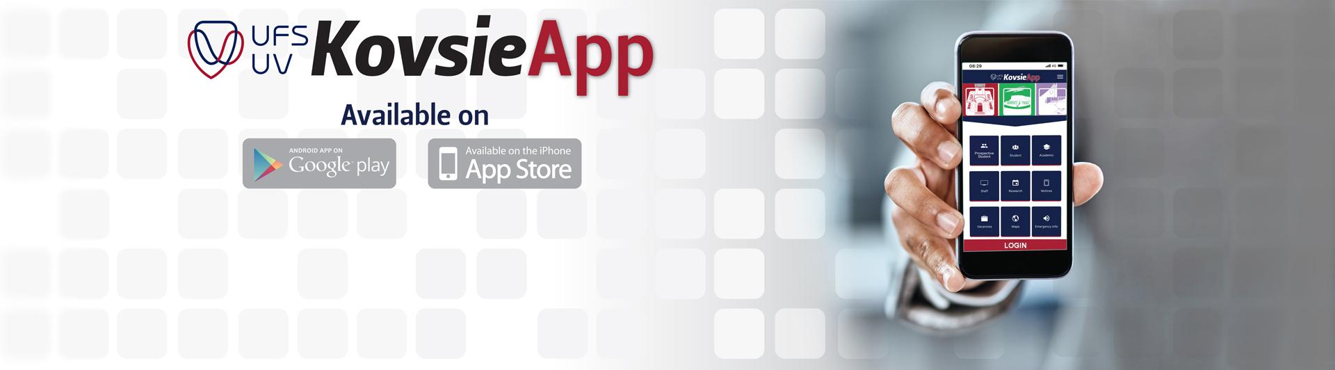 KovsieApp Web