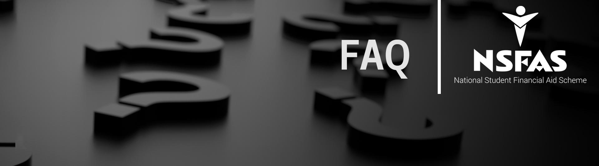NSFAS FAQ