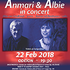 Anmari and Albie in concert