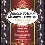 ARNOLD BOSMAN Memorial Concert