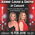 Jeanne-Louise and Grethe In Concert