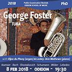 Public Examination Recital George Foster PhD - tuba