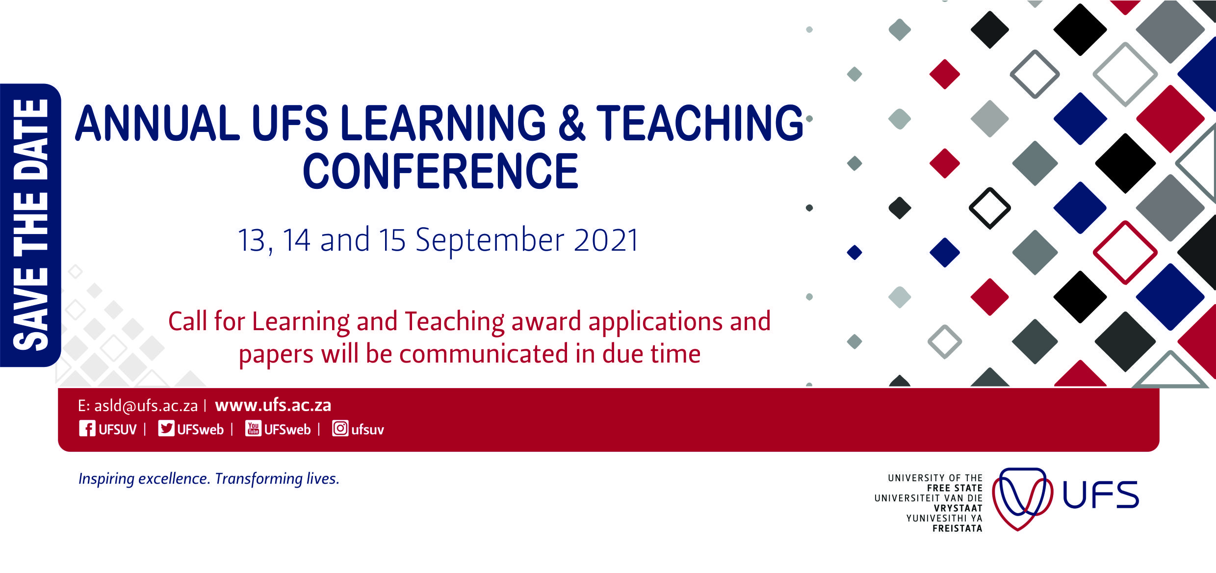 Learning and Teaching Conference_Save the date