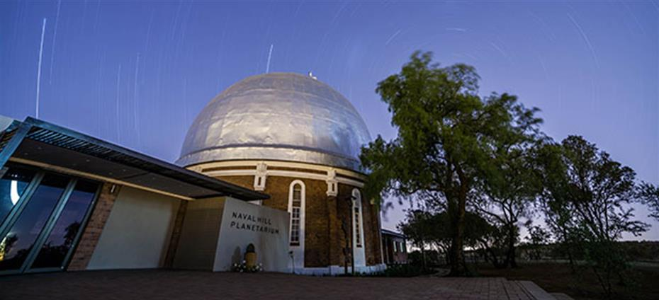 Description: Centre for Earth and Space Keywords: Naval Hill Planetarium dome by Evert Kleynhans