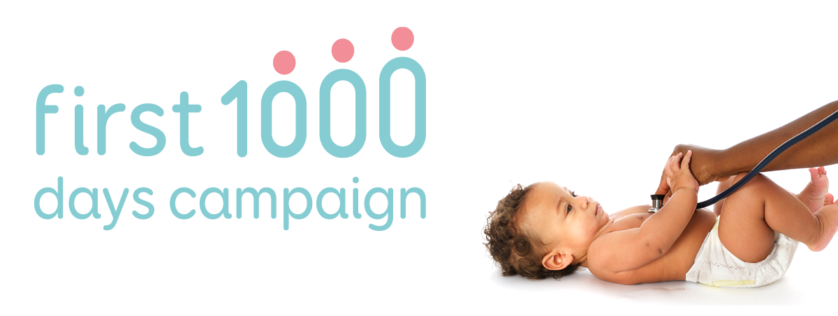 First 1000 Days campaign logo