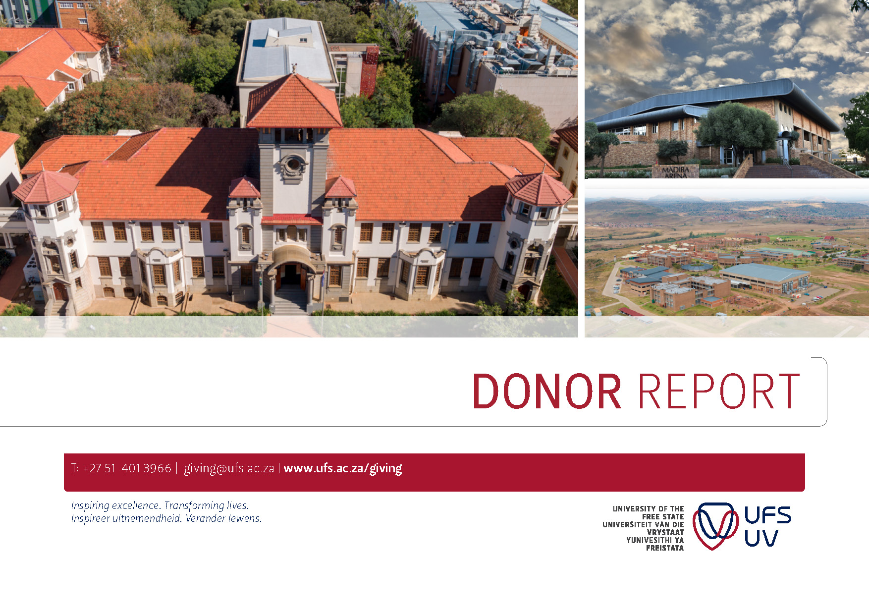 UFS Annual Donor Report_Dec 2017