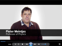 Prof Pieter Meintjies introduction: video