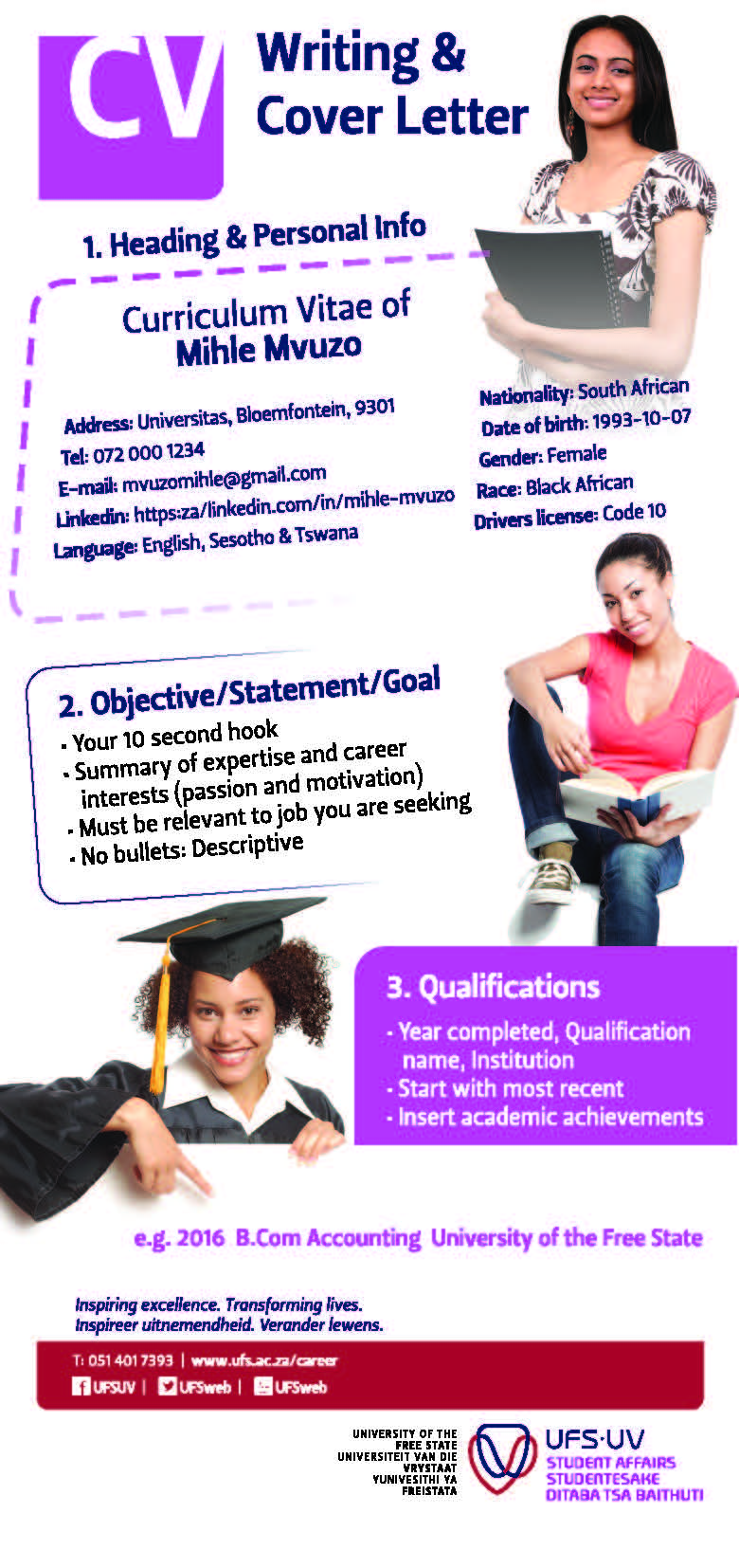 Professional cv writing service south africa