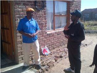 Description: Community Engagement Keywords: QwaQwa, Basa Magogo, fieldworkers, monitoring questionnaire, Mangaung Village, Bolata Village