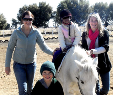 Description: The Department of Psychology`s horse-riding therapy community service learning project at Equistria once again contributed to the lives of many differently abled children this year.  Tags: Psychology, horse-riding therapy, service learning