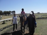 Description: Therapeutic horseriding Tags: therapeutic horseriding, differently abled, service learning, Equistria, Psychology